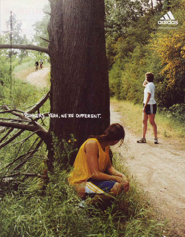 Runners, Yeah we are different Tree-800
